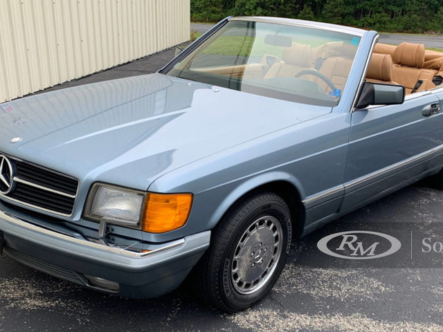 Coachbuilt W126 Mercedes-Benz S-Class Convertible And Wagon Are An Odd Couple