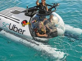 WORLD FIRST: Heron Island visitors can book underwater Uber