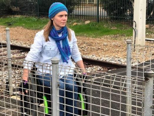 Wheelchair user says train station's closure will cut off 'lifeline'