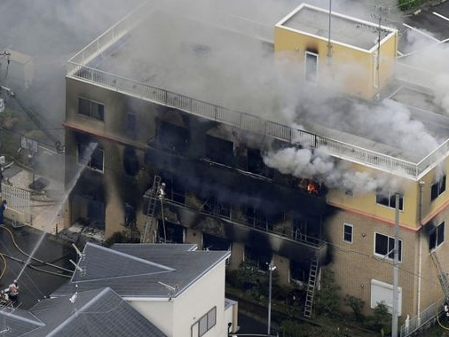 Several feared dead in suspected arson attack on Japanese animation studio