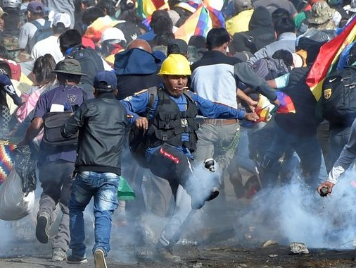Five dead in Bolivia protests calling for return of ex-president