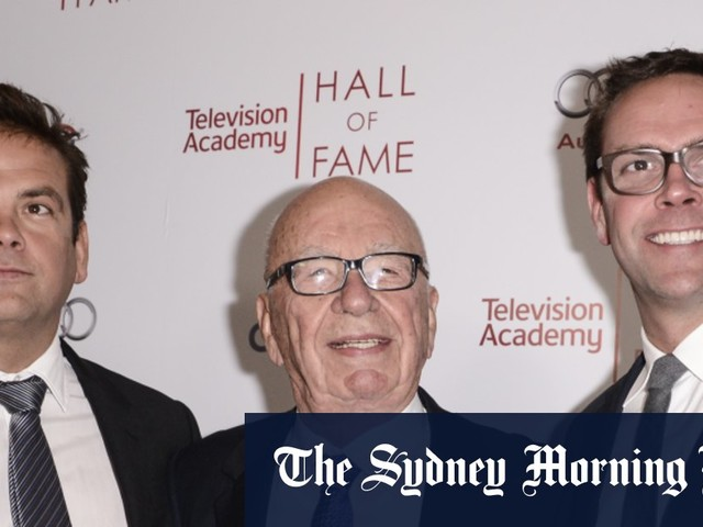 James Murdoch condemns 'profound damage' wreaked by US news media