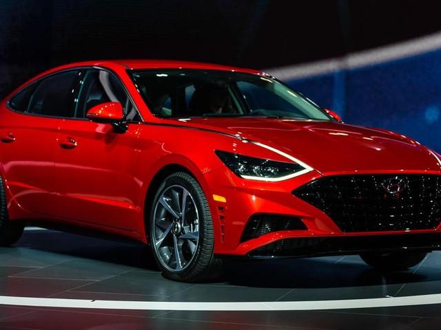 2020 Hyundai Sonata brings arresting style to New York - Roadshow