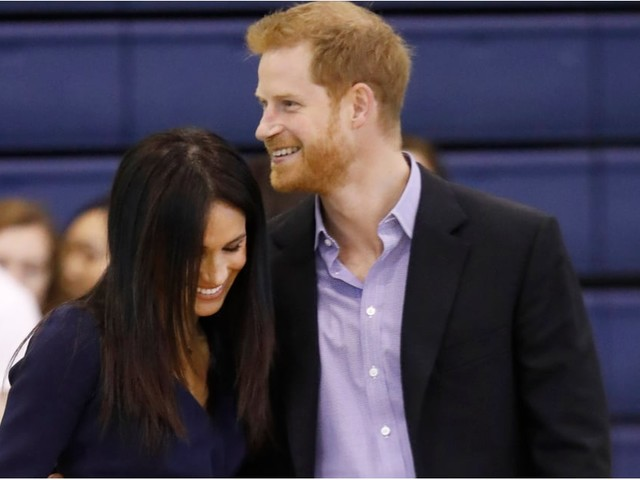 Prince Harry and Meghan Markle Cuddle Up as They Attend the Coach Core Awards