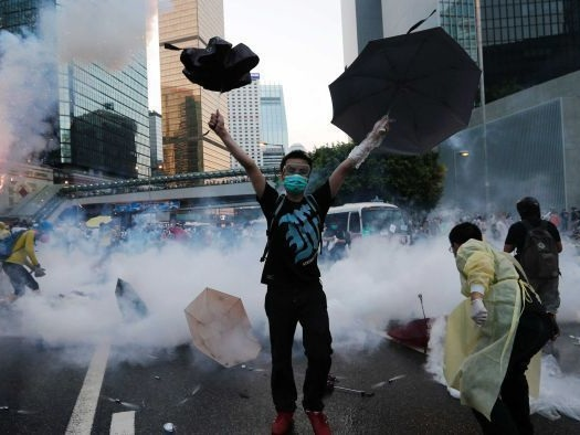 Pro-independence party banned in Hong Kong as Chinese Government tightens grip