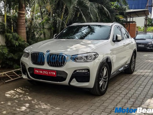 BMW X4 Spied Undisguised Ahead Of India Launch