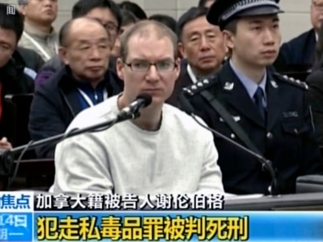 China sentences Canadian man to death for drug smuggling as Huawei row drags on