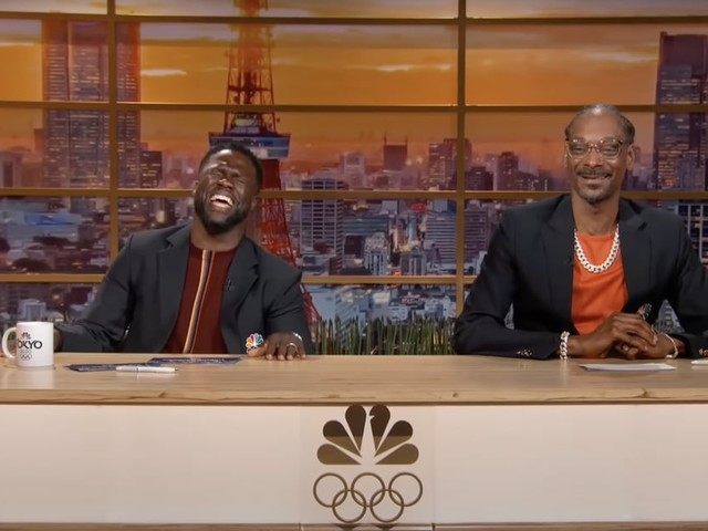 Kevin Hart and Snoop Dogg Are the Olympic Duo We Didn't Know We Needed