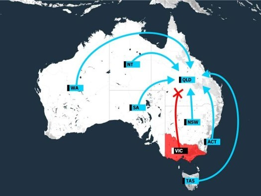 Get ready for the southern stampede: What you need to know about the Queensland border reopening