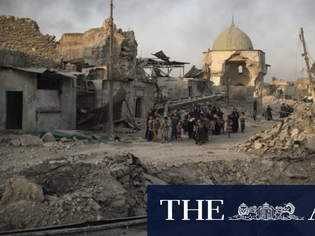 'It didn't need a redesign': Iraqis hit out at plan to rebuild Mosul mosque destroyed by IS