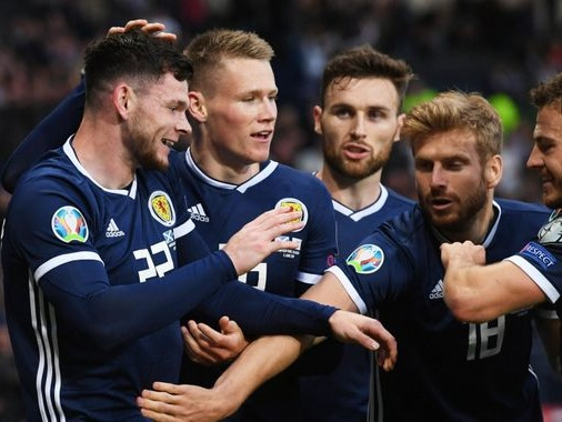 Scotland's John McGinn says Oli Burke's late winner saved Euro 2020 campaign