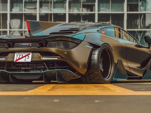 Someone Really Went To Town With This McLaren 720S Rendering