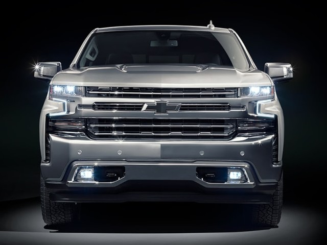 2020 Chevrolet Silverado 1500 here in March