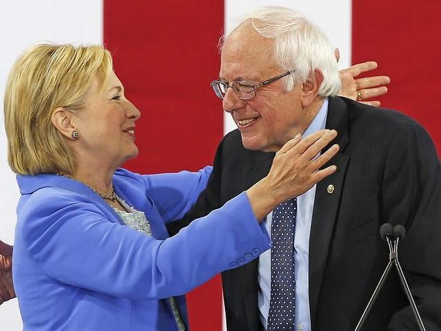 Hillary Clinton slams Bernie Sanders, says 'nobody likes him'