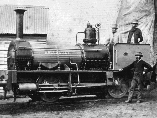 This 19th century locomotive is a symbol of Ballarat's innovation, so why is it in WA?