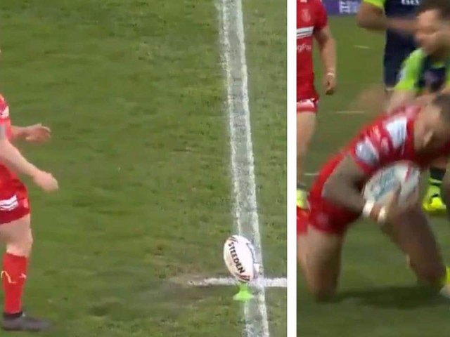 Super League world stunned by fastest try ever to Ben Crooks