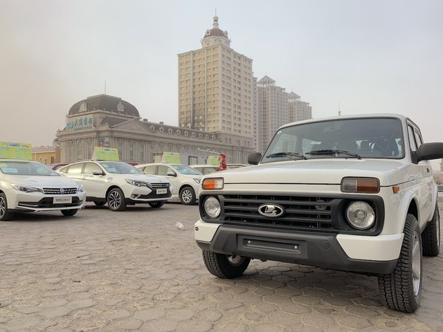 Explore China 2019: The cars of Manzhouli, Inner Mongolia