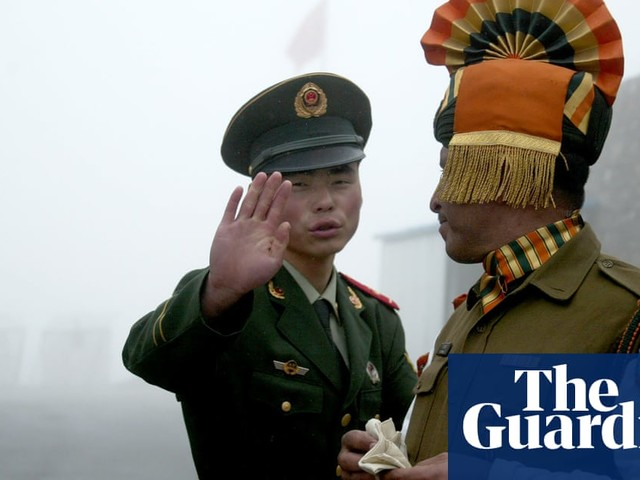 Indian troops brawl with Chinese counterparts on border