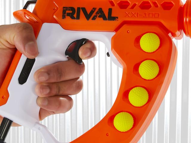 Nerf's Rival Curve Shot blasters let you twist your shots - CNET