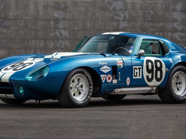 How Much Is Carroll Shelby's Personal 1965 Daytona Cobra Worth To You?
