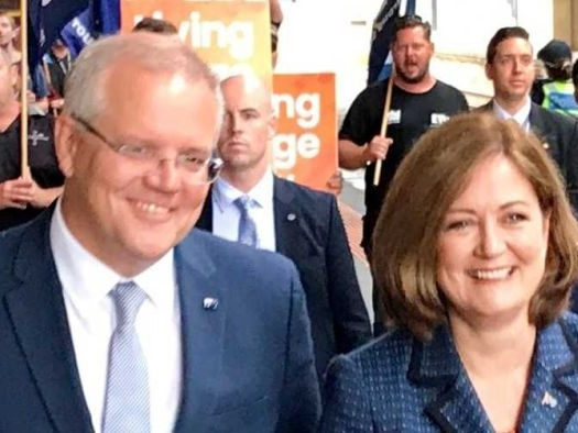 Will Scott Morrison's fast rail plan help him save seats in Victoria?