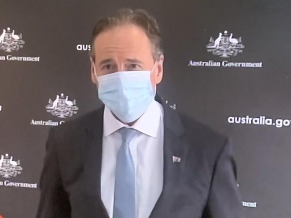 Health Minister Greg Hunt backs target of zero healthcare worker deaths