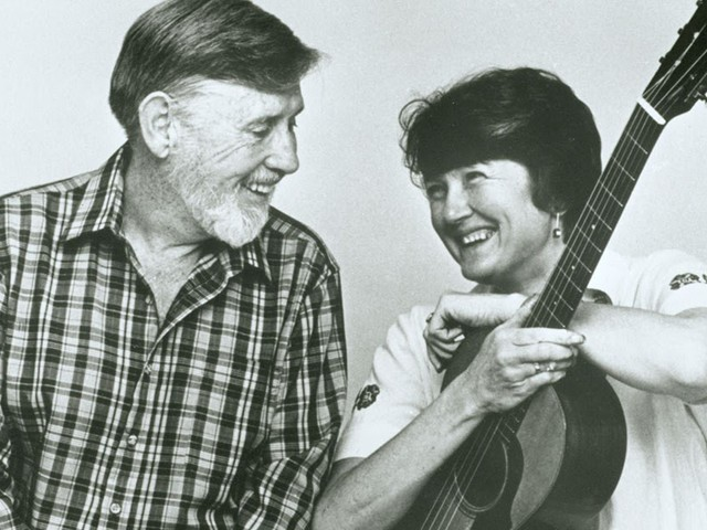 Ewan MacColl and Peggy Seeger live at The Regent Theatre, Sydney 1979.