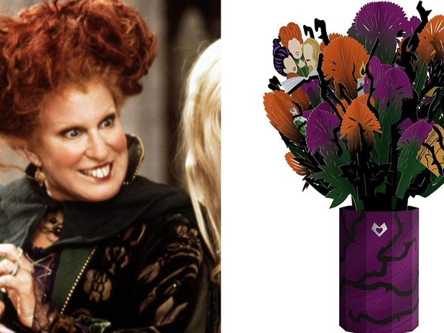 Come, Little Children! This Hocus Pocus Pop-Up Bouquet Is a Bewitching Halloween Surprise