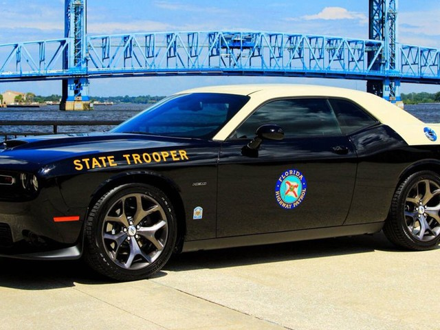Good Luck Getting Away From Florida Highway Patrol's Dodge Challenger