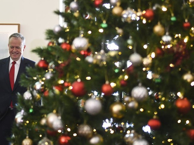 The givings and misgivings of Christmas in Parliament House