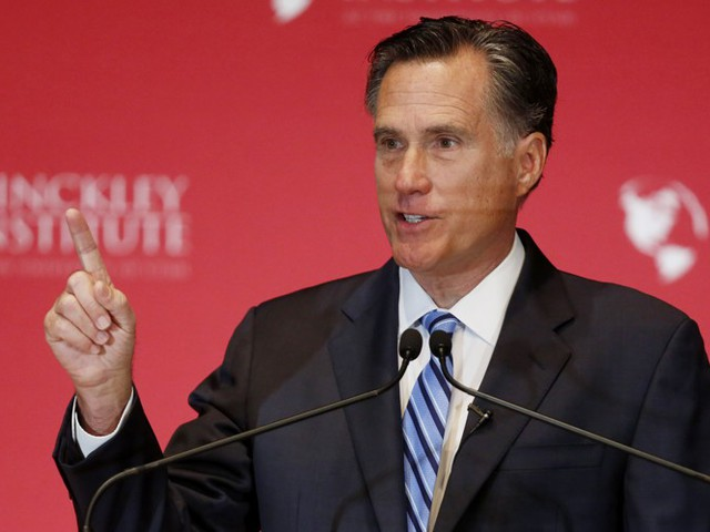 Will Mitt Romney's Anti-Trump Pitch Work?