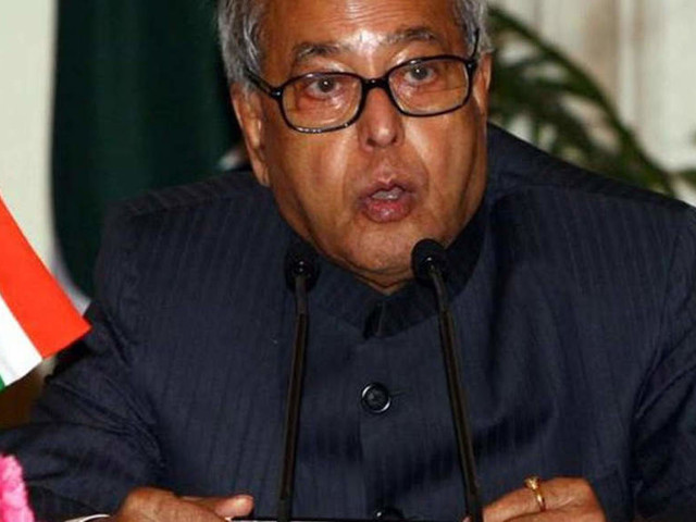 Pranab Mukherjee continues to be critical
