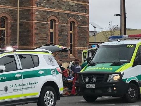 Boy fighting for life after school fall