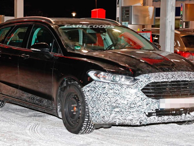 2019 Ford Mondeo Wagon Facelift Spied, Could Be The New Hybrid
