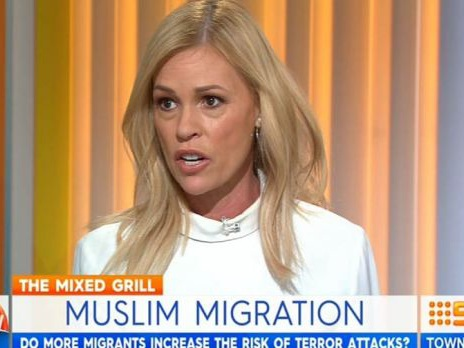 Sonia Kruger calls on Australia to stop taking Muslim immigrants
