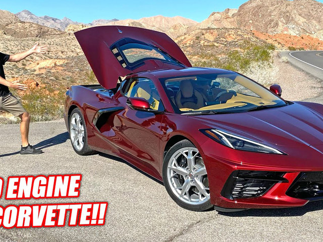Cleetus McFarland Finds 2020 Corvette Stingray C8 A Stunning All-Rounder
