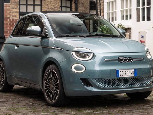 Fiat's New 500 EV Comes With Smartphone-Like Power Saving Mode