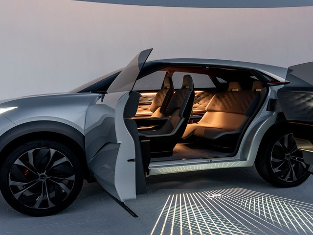 QX Inspiration Concept Is A Futuristic Teaser Of Infiniti's New Electric SUV