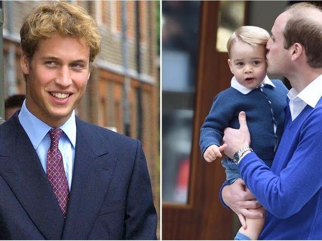 See Prince William's Evolution From Royal Heartthrob to Doting Dad
