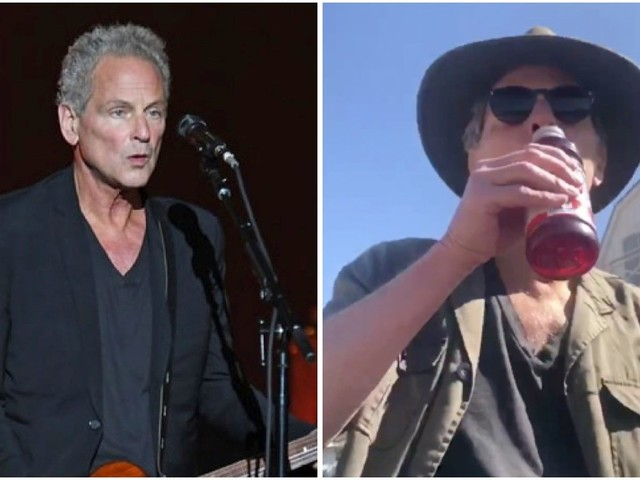 Lindsey Buckingham Does The Inevitable, Makes His Own Cranberry Juice 'Dreams' Video