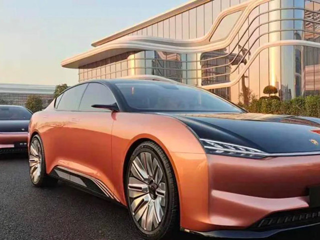 Hengchi 1 Is An All-Electric Luxury Sedan From China's Evergrande