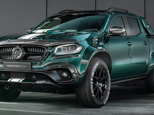 Carlex Design Crafts Striking Mercedes-Benz X-Class Racing Green Edition
