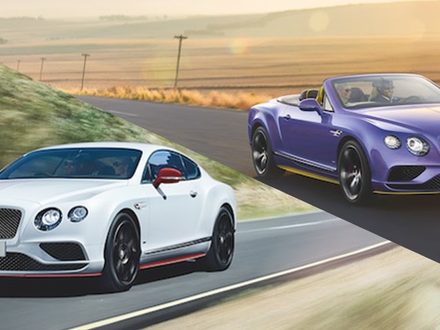 Bentley Continental GT V8 S Black Edition Is More Colorful Than You'd Expect