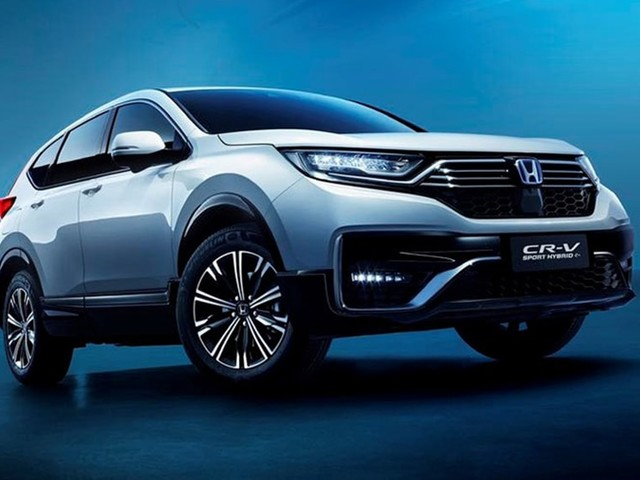 New Honda CR-V PHEV 2021 detailed: Plug-in hybrid Mitsubishi Outlander and Ford Escape rival charges up