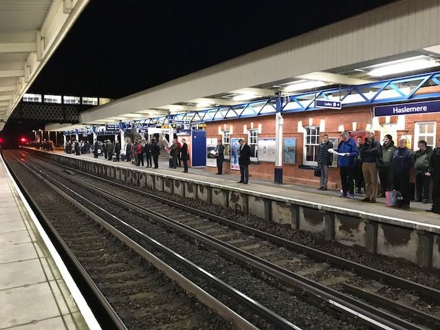 Final day of strikes on South Western Railway