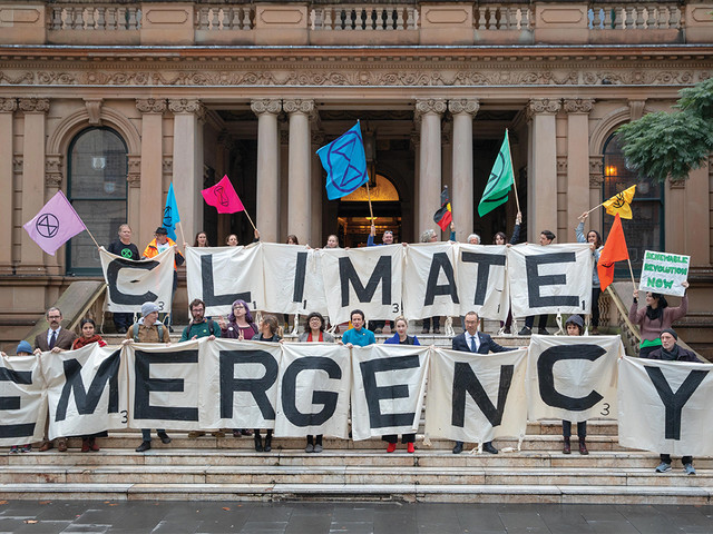 City of Sydney joins 600 others declaring a climate emergency