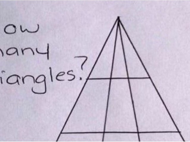 If You Can Crack This Triangle Brain Teaser, Congratu-Freakin'-Lations: You're a Genius