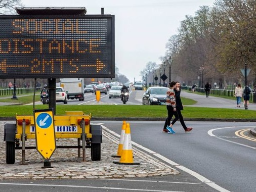 Coronavirus: Ireland put in lockdown as COVID-19 spreads