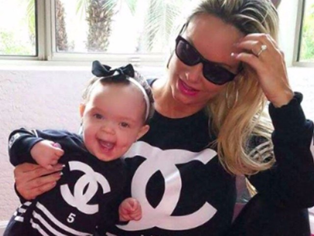 Coco Austin and Baby Chanel Are the Cutest Twins Ever in This Instagram Photo