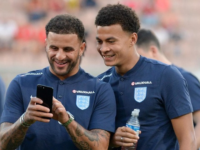 Three Lions take to Twitter after their WC selection